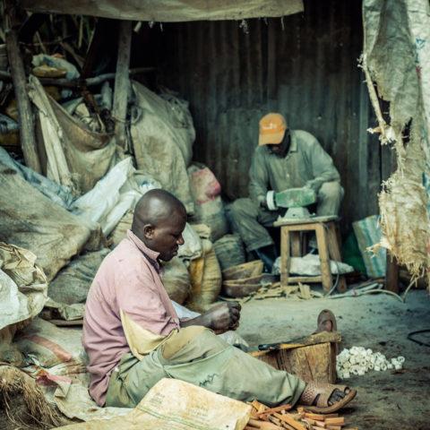 Kibera, Travailleurs informels ©Backdrop