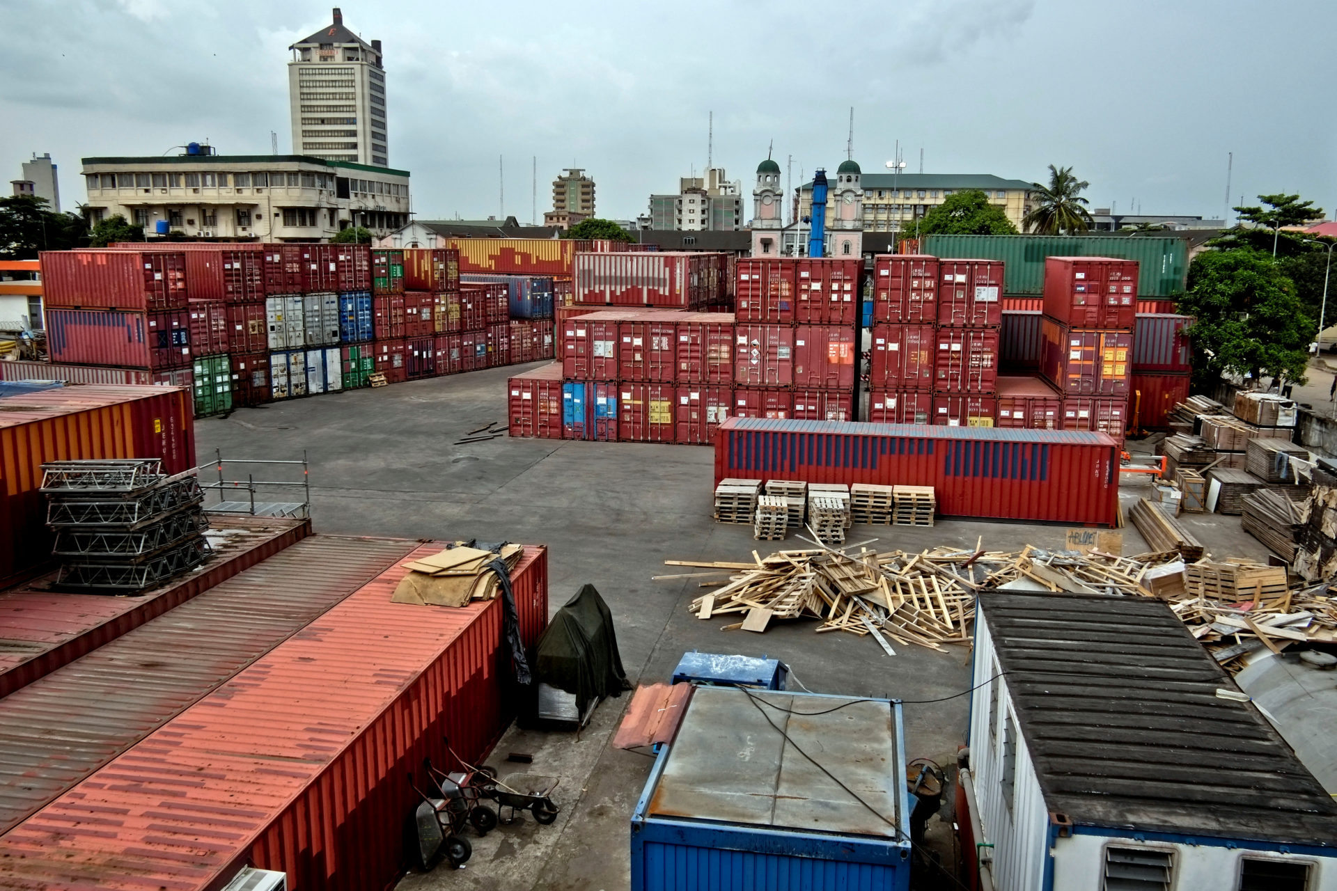 Access Bank : Port Lagos containers, Prisme Proparco ©James Keogh Wostok